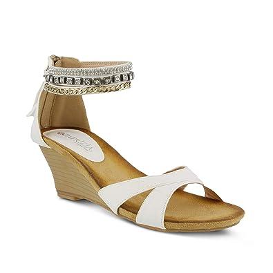 7ab25e343707 Amazon.com  PATRIZIA Women s Rho Wedge Sandal  Shoes