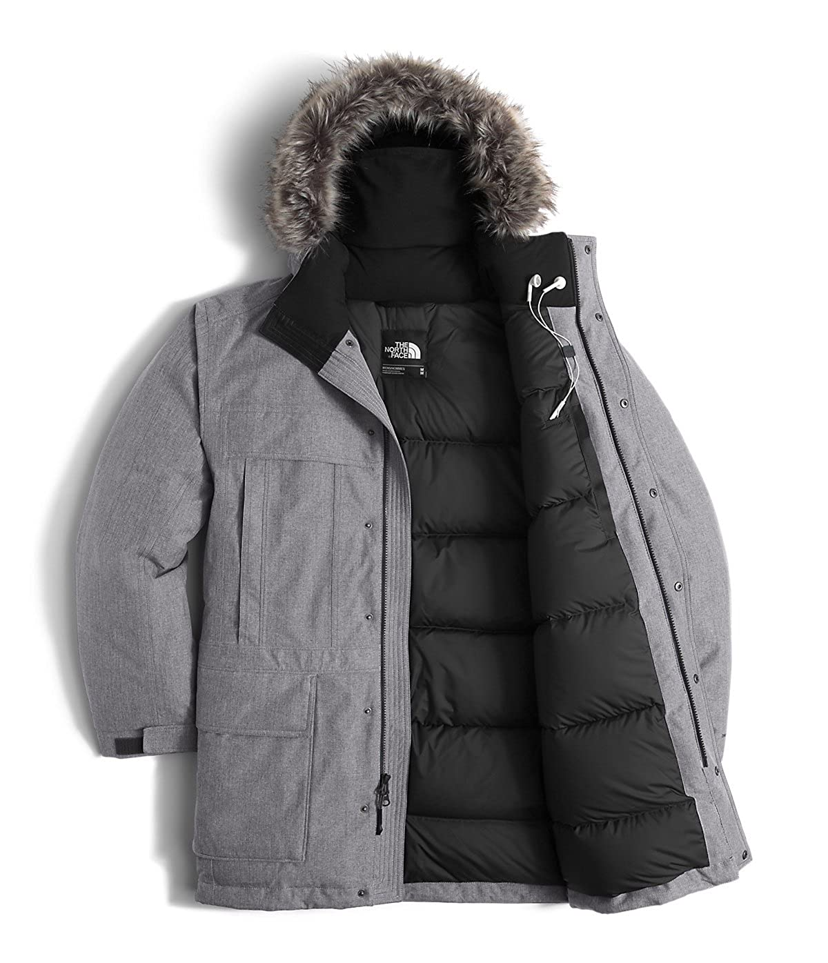 North face men's mcmurdo parka black