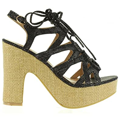 Refresh 63507 Negro - Chaussures Sandale Femme