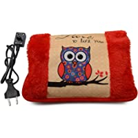 Lifestyle-You® Premium Quality Velvet & Fur Electric Rechargeable Hot Water Bag Heat Pad With Hand Pocket