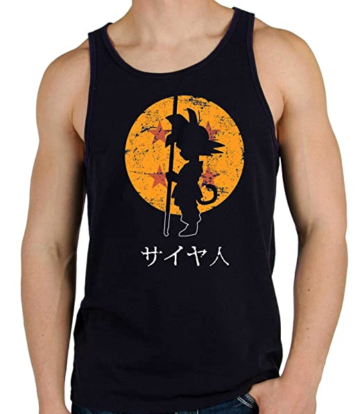 35mm - Camiseta Hombre Goku Dragon Ball fJjcIw