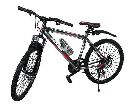 Cosmic Flash 26T 21-Speed MTB Bicycle (Grey/White)