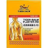 Tiger Balm New Hot Plaster Warm 10 × 14 cm, 2 Sheets - مستورد من متجر