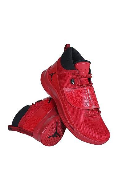 Nike Jordan  Herren Basketballschuhe rot rot