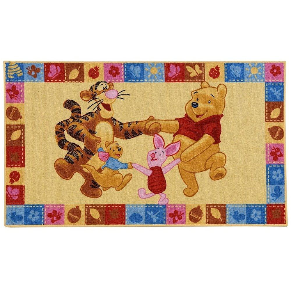 Disney 15210 Tapis antidérapant pour enfants, motif Winnie l'ourson, 140 x 80cm motif Winnie l' ourson 140 x 80cm