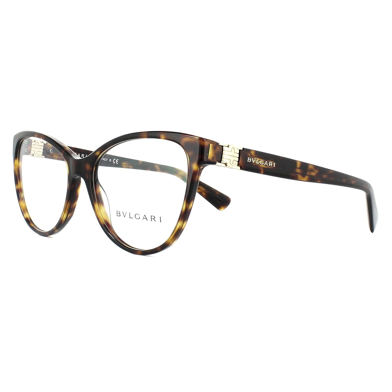4233f32342759 Bulgari BVLGARI 0BV 4151 504 52 Montures de lunettes Dark Havana ...