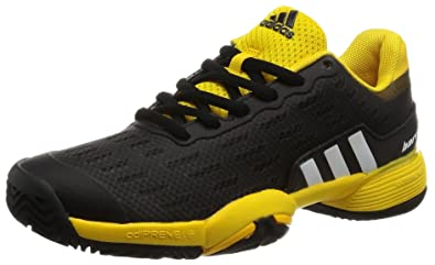 new product f2525 1e4d2 adidas Barricade Xj, Chaussures de Fitness Mixte Enfant, Noir  (NegbasFtwbla