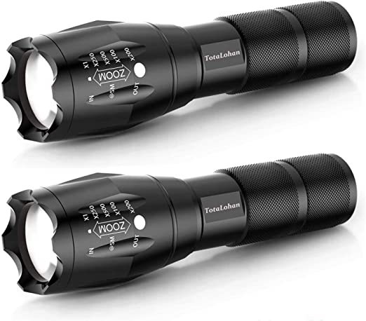 1-5 Taktische 20000LM T6 LED zoombare Taschenlampe Super Bright Torch Lamp Light