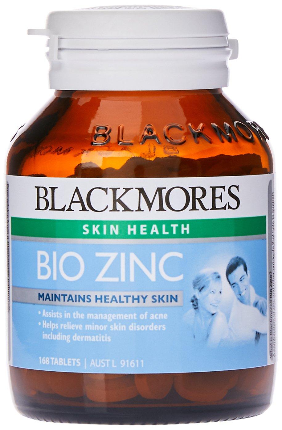 Blackmores Bio Zinc 168 Tablets Health Personal Care C 1000mg 150