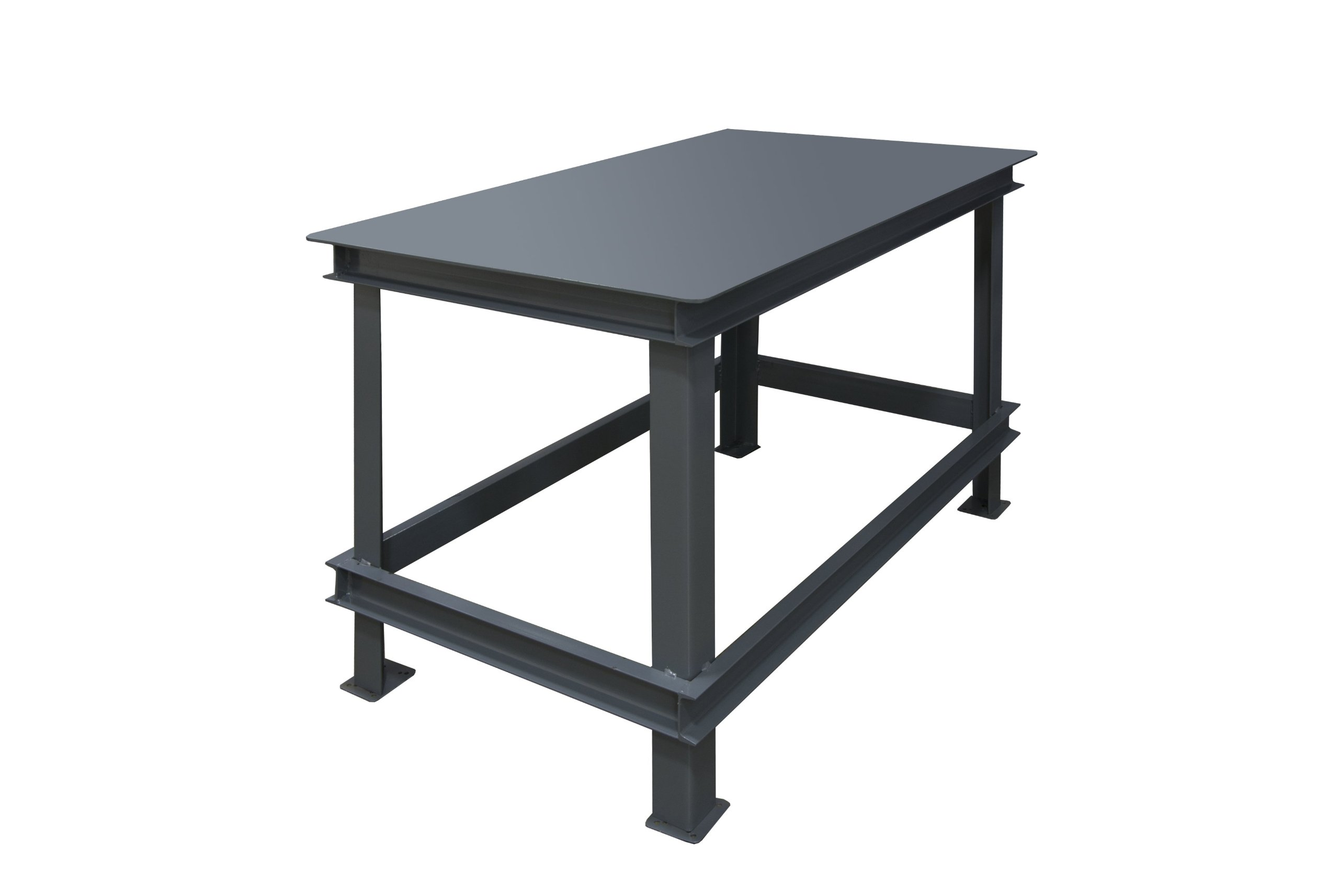 Durham Steel Extra Heavy Duty Machine Table, HWBMT-367234-95,  1 Shelves,  14000 lbs Capacity,  36'' Length x 72'' Width x 34'' Height