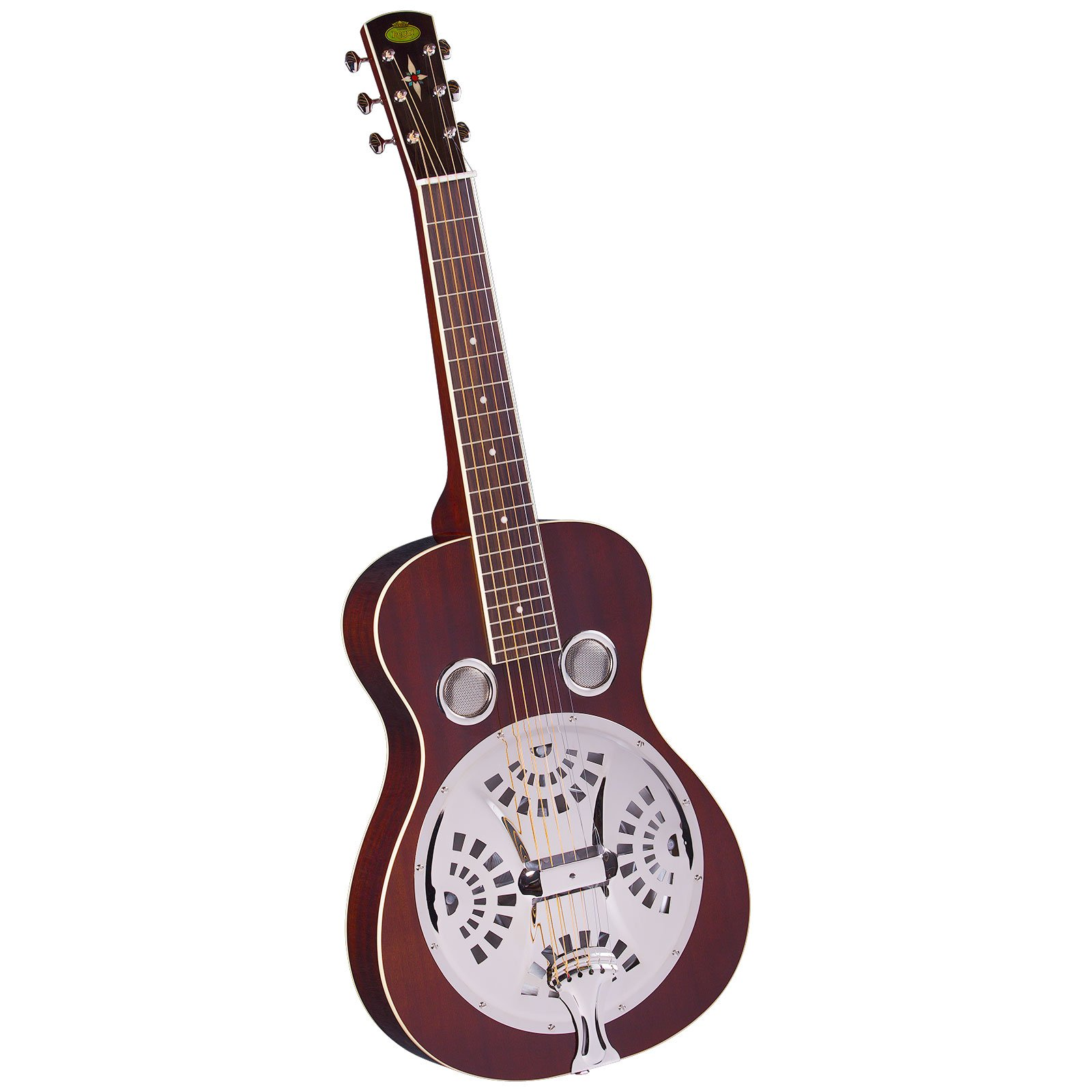 Regal RD-40MS Squareneck Resophonic Guitar - Natural Mahogany