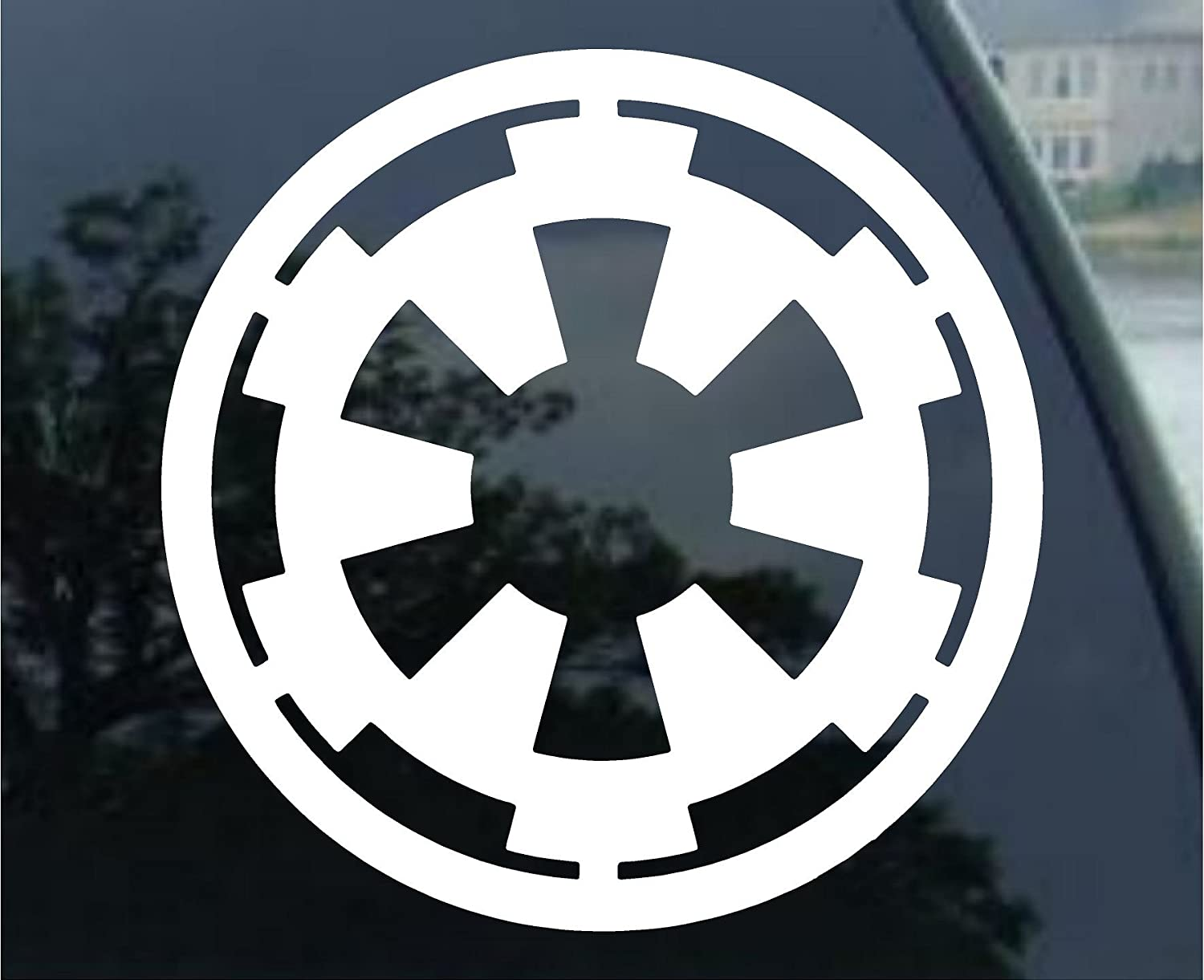 Amazon com spdecals star galactic empire vinyl decal window sticker automotive