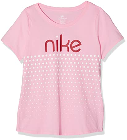 a8e1f305 Amazon.com : Nike Girl's Sportswear Dot Graphic T-Shirt : Sports ...