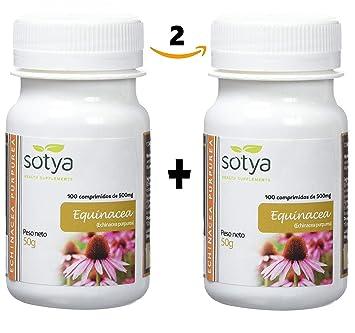 SOTYA PACK 200 COMPRIMIDOS 500 MG EQUINACEA: Amazon.es: Salud y cuidado personal