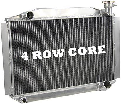 For 1955-1960 Chevy Corvette 350 V8 AT//MT 3 Row Aluminum Radiator