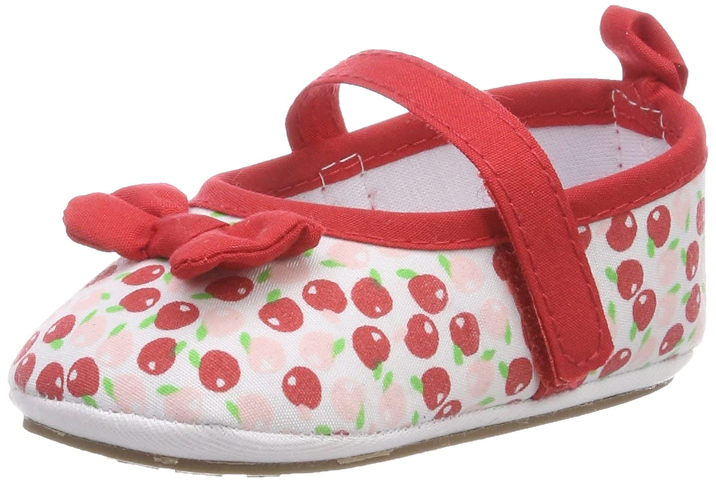 Baby-Ballerina Walking Shoes Red Size