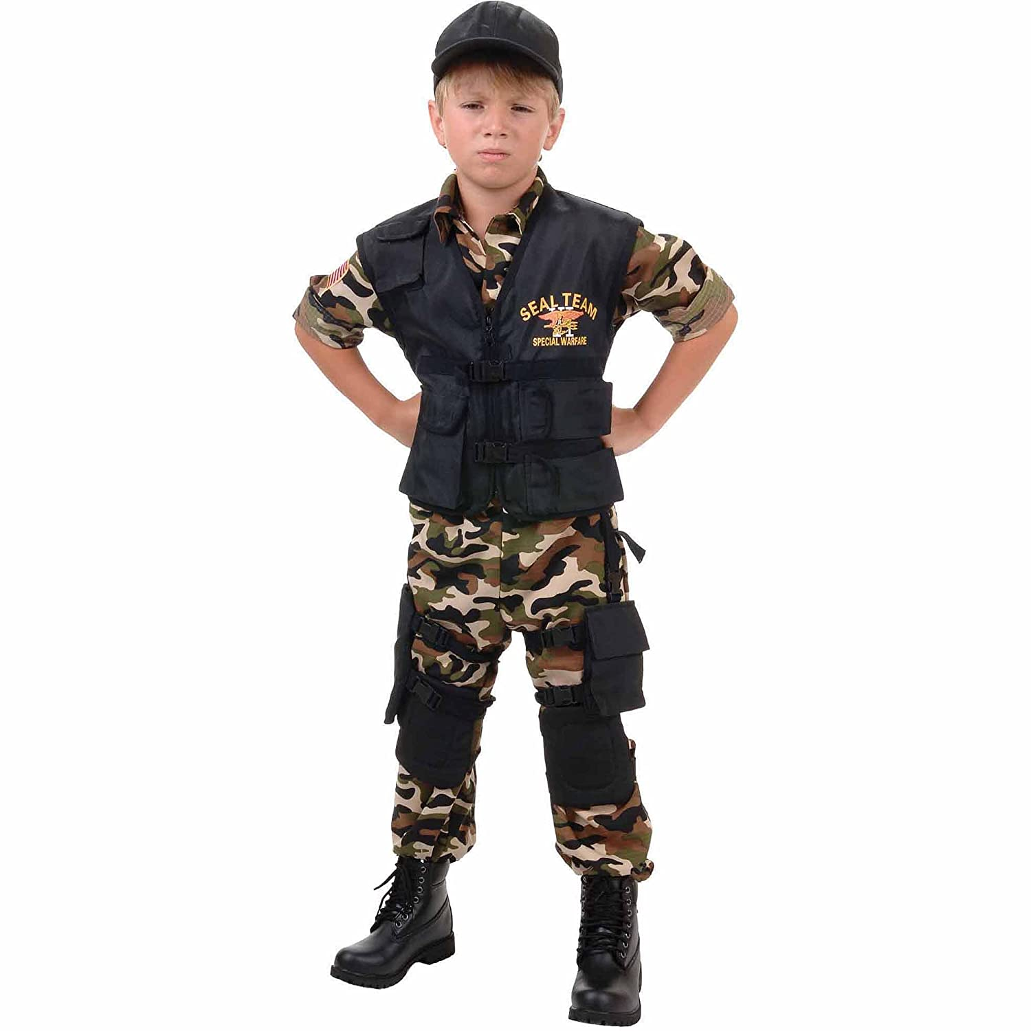 Child Costume Seal Team