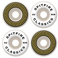 Spitfire Classic Series 50mm High Performance Skateboard Wheel (Set of 4)
