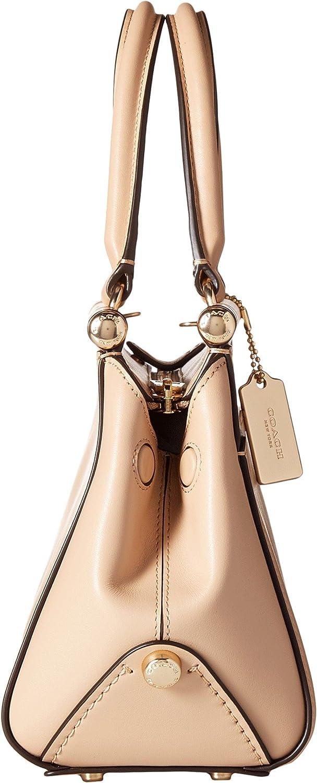Amazon.com: COACH Grace 20 - Bolsa de piel de becerro para ...