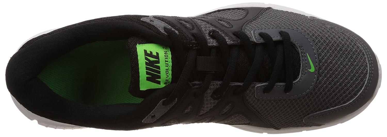 2400df14711 ... ireland nike mens revolution 2 msl dark grey black green star and white running  shoes 11
