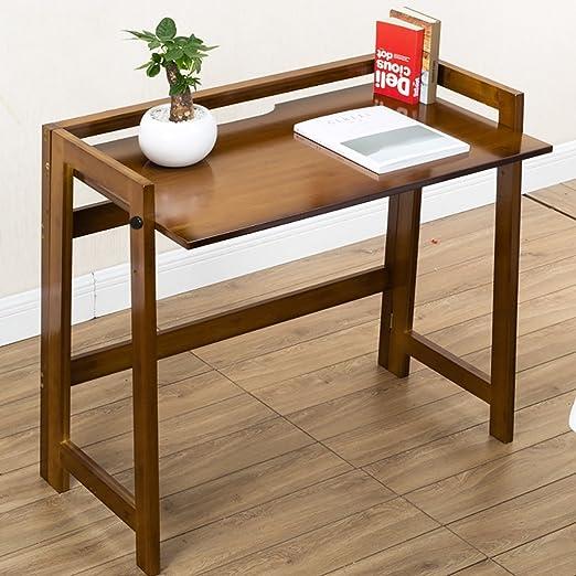 GYMyb Tabla de Planchar Mesa Plegable Nan Bamboo Escritorio de la ...