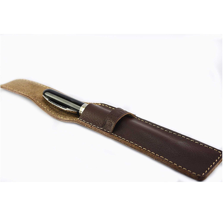 Amazon.com: DiLoro - Funda de piel auténtica para bolígrafo ...