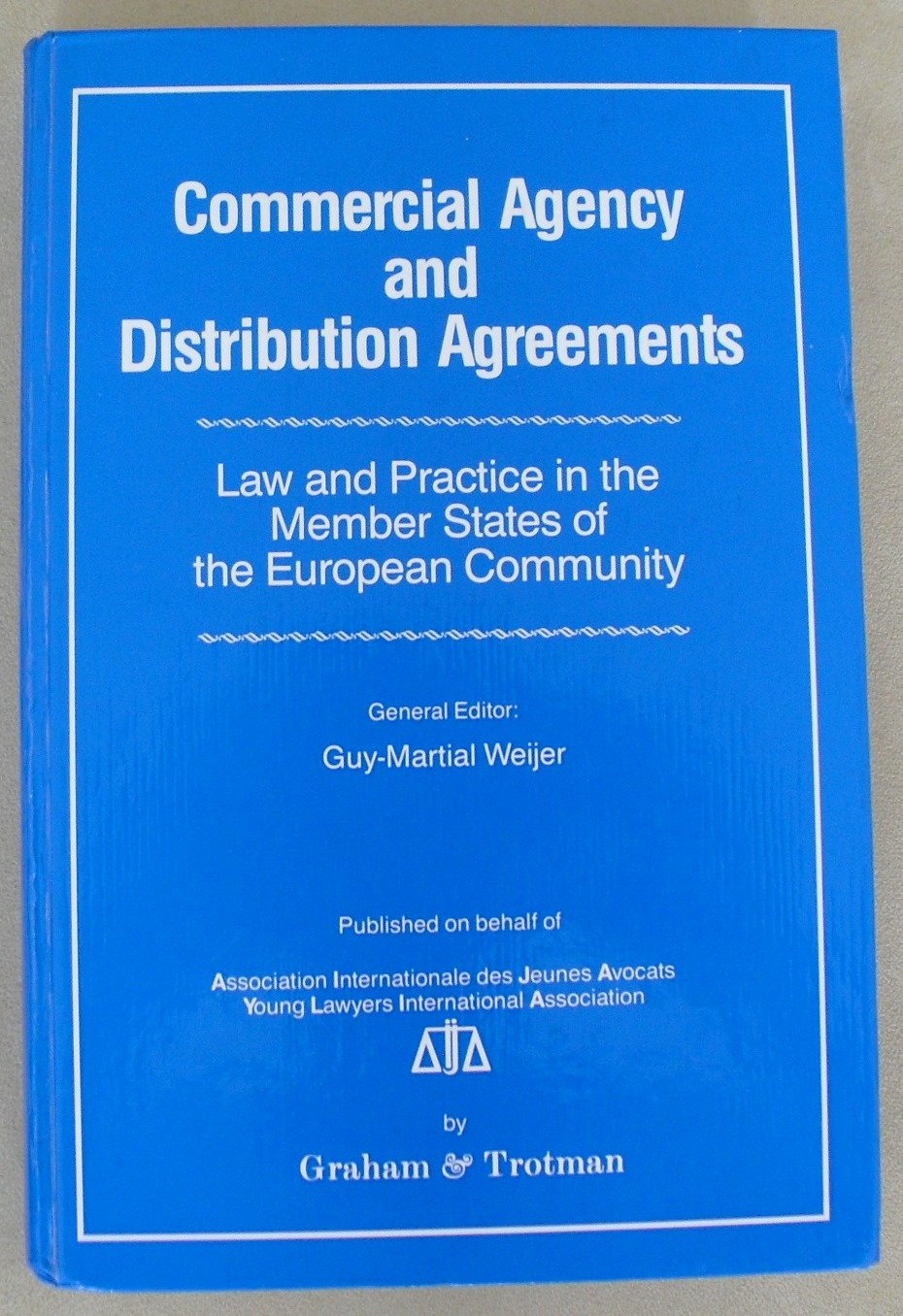 Buy Commercial Agency And Distribution Agreementslaw And Practice