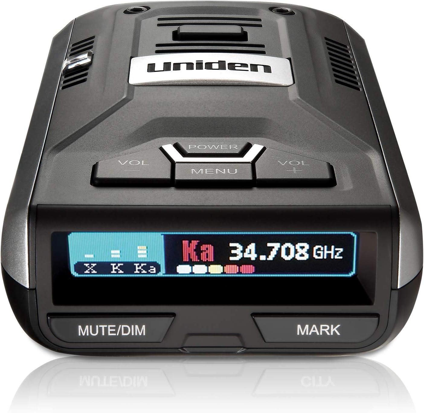 Uniden R3 Extreme Long Range Radar Laser Detector GPS, DSP, Voice Alert, Silver