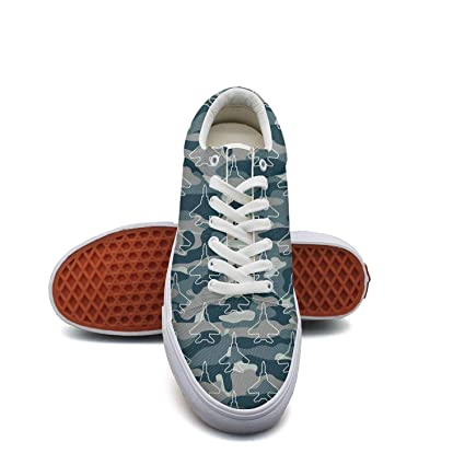 SERXO Blue Camouflage Army Universe Aircraft Skateboard Running Shoes Women  Fashion Sneakers 2018 cab6e53d406
