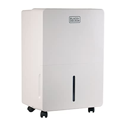 BLACK+DECKER BDT70PWT 70 Pint Energy Star Portable Dehumidifier with Built-in Pump, White