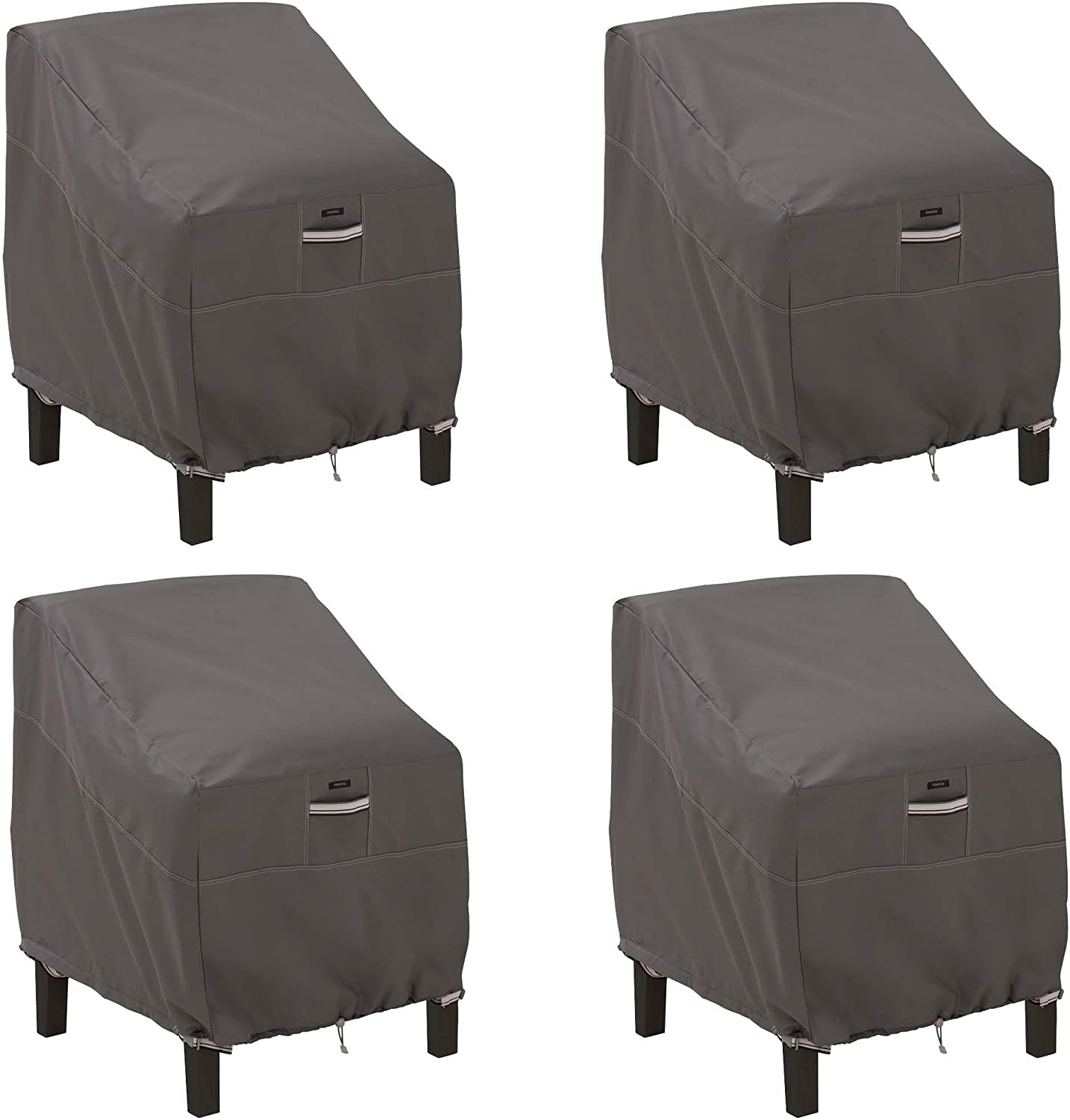 Classic Accessories Ravenna Patio Lounge Chair Cover, Large (4-Pack)
