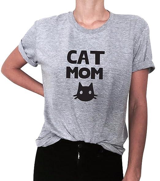 Vielzahl von Designs und Farben großer Abverkauf Online-Einzelhändler Haomei T Shirt Damen Print T Shirts Kurzarm Frauen Bedruckt ...