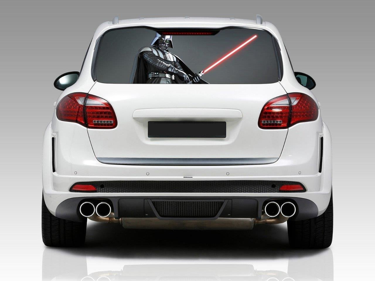 Amazoncom DARTH VADER Car Rear Window Graphic Decal Sticker - Truck back window decals
