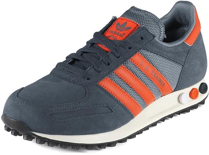 adidas trainer nere arancio