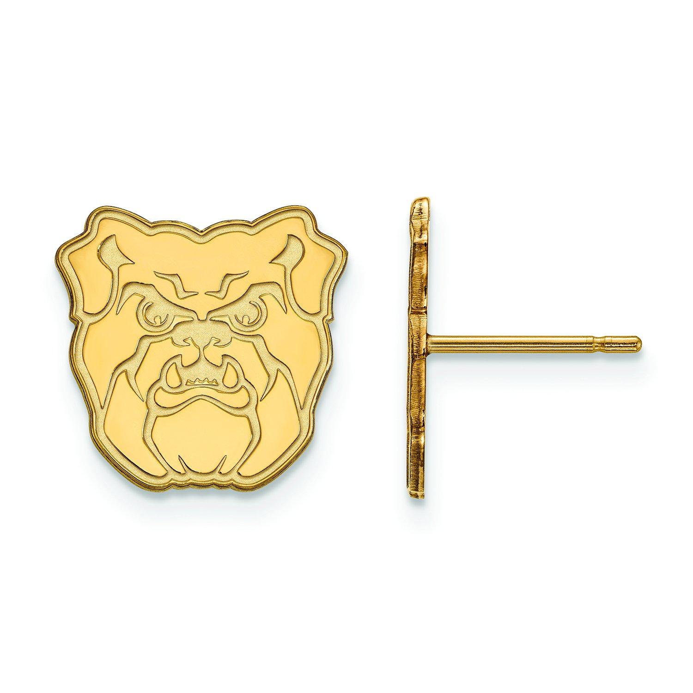 Butler Small ( 1 / 2インチ)ポストイヤリング( 10 Kイエローゴールド)   B01JAOIQ66