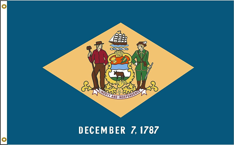DELAWARE 2x3ft Flag polyester state DE