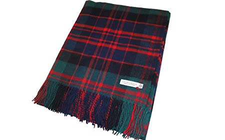 Image Unavailable. Image not available for. Colour  Lochcarron of Scotland  MacDonald Clan Modern Lambswool Blanket 909e43be4