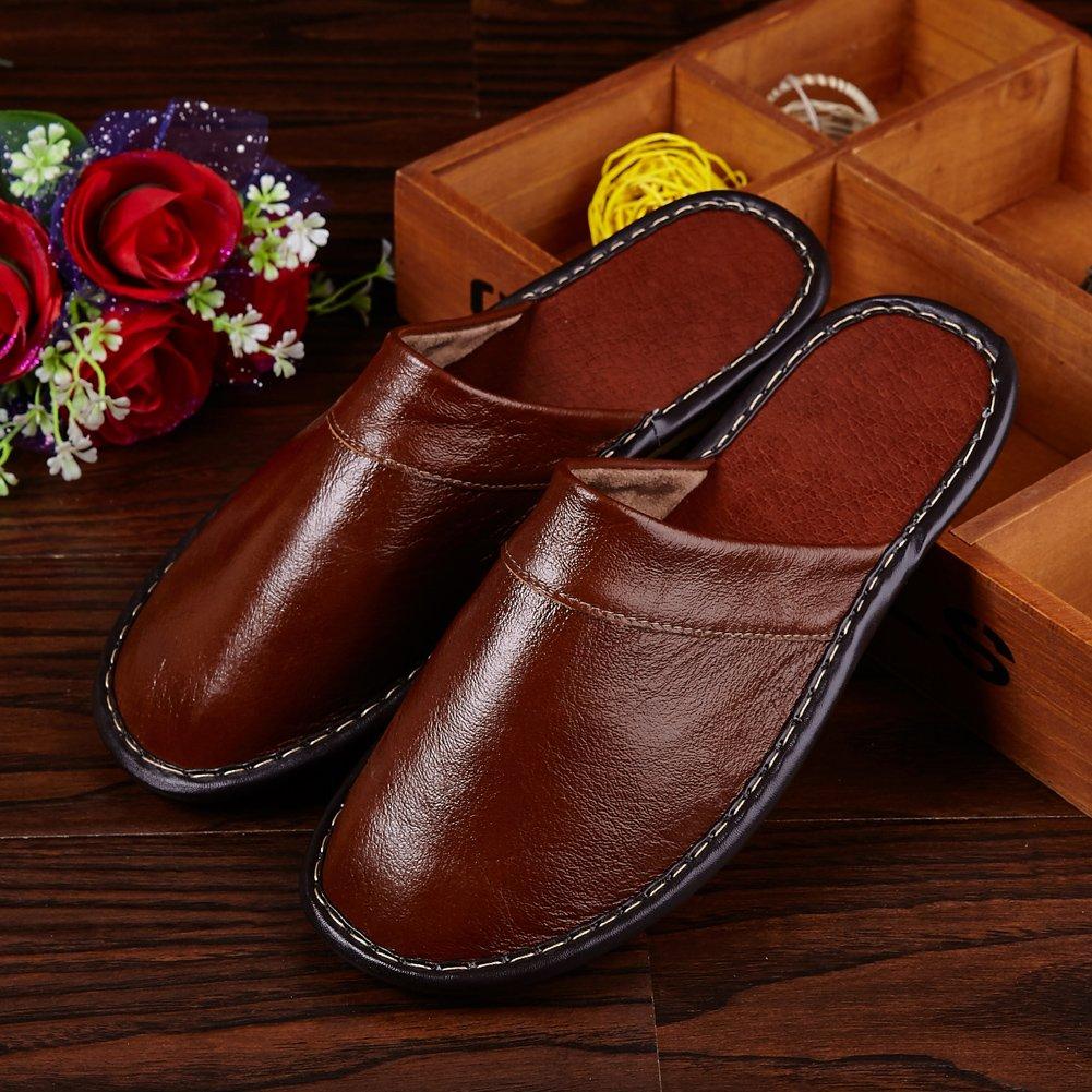 KUIBU Premium Hand Embroidery Skid-Proof Flax House Indoor Lightweight Hemp Slippers Slide Scuff Sandals