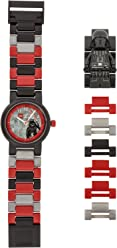 Lego Kids Analogue Quartz Watch with Plastic Strap 8021018