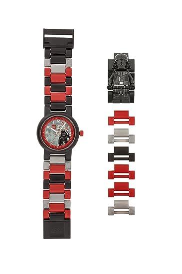 628b323c5288 Reloj modificable infantil con figurita de Darth Vader de LEGO Star Wars  8021018  Amazon.es  Relojes