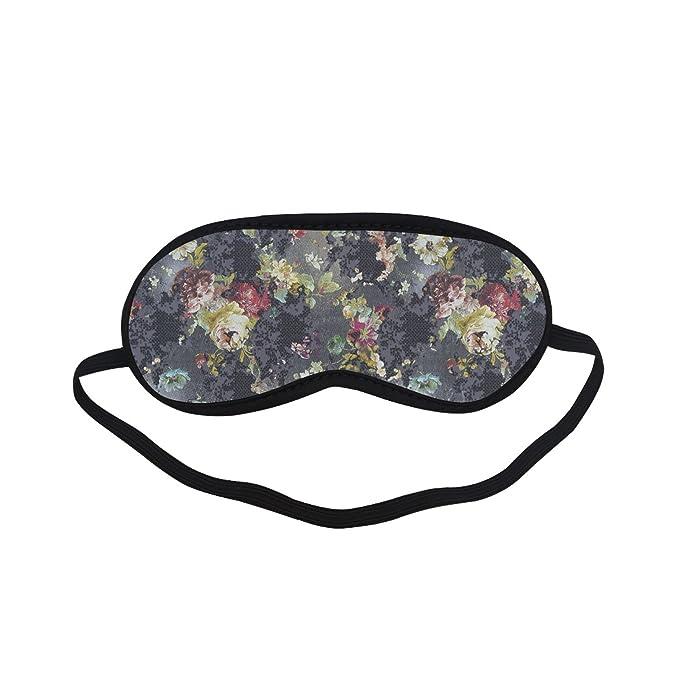 e20befb7f0 Amazon.com  Sleeping Mask Floral Design PTEM454 Blindfold Eye Travel ...