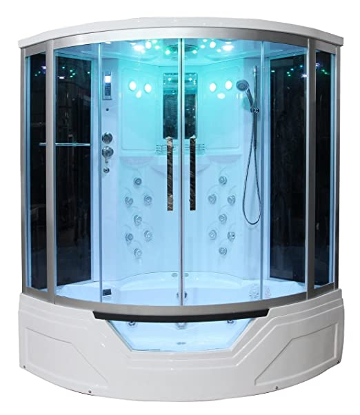 Amazon.com: Eagle Bath WS-703 110v ETL Certified Steam Shower ...
