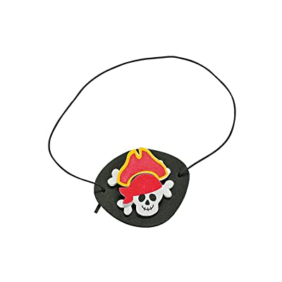 Foam Pirate Eye Patch Craft - Crafts for Kids and Fun Home Activities: Toys & Games