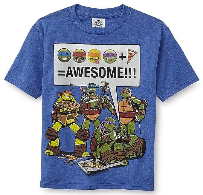 Amazon.com: Hybrid Tees Boys Teenage Mutant Ninja Turtles ...