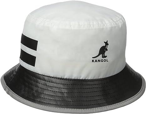 Kangol Headwear Nytek Bucket Gorro Estilo Pescador, Blanco (White ...