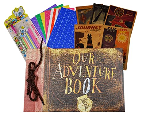 Amazon our adventure book loose leaf pages diy photo