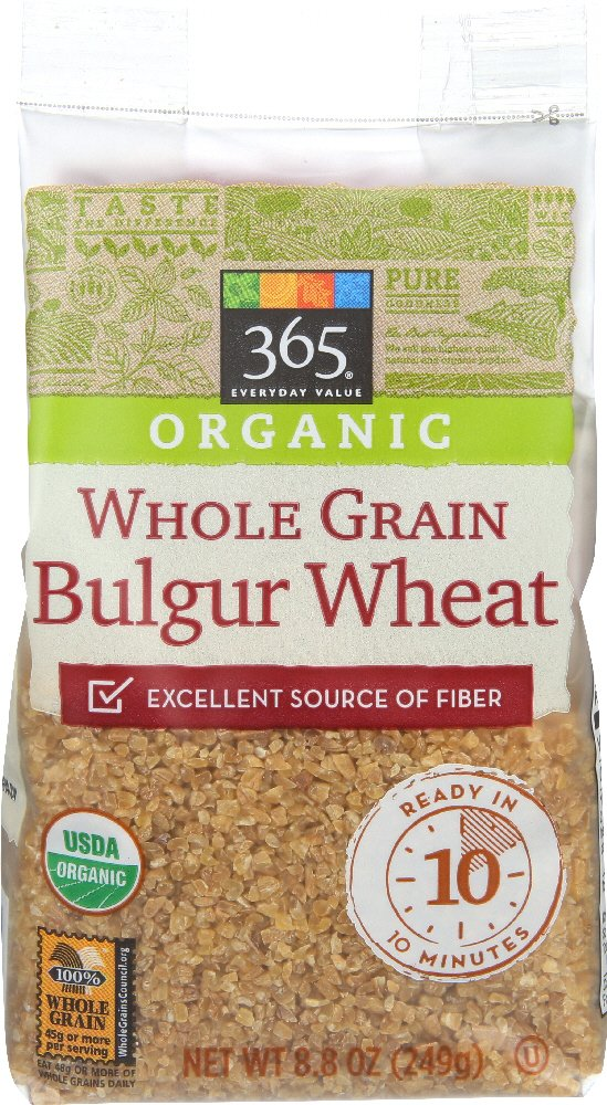 365 Everyday Value, Organic Whole Grain Bulgur Wheat, 8.8 oz
