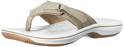 7d5bbf5c658 Clarks Women s Brinkley Sea Grey Fashion Sandals - 3 UK India (35.5 ...