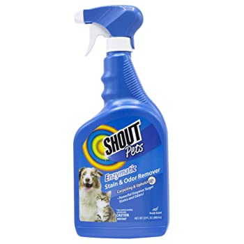 Shout Pets Oxy Stain & Odor Remover for Carpeting & Upholstery