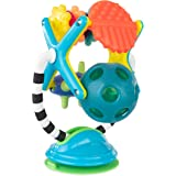Sassy Teethe & Twirl Sensation Station 2-in-1 Suction Cup High Chair Toy | Developmental Tray Toy for Early Learning | for Ag